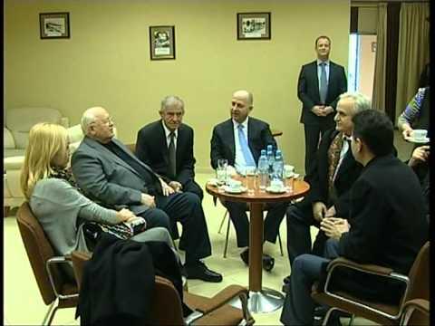 Rezart Taçi - Gorbachev in Tirana, special guest in Women's World Chess Championship [2]
