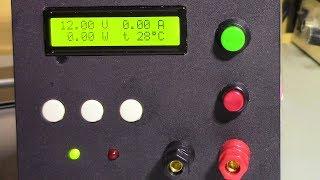 Лабораторный Блок Питания на ардуино. Версия с внешним ЦАП. Настройка.