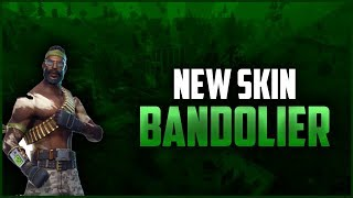 Bandolier! *New* Skin - Fortnite Battle Royale Gameplay - SRKaos