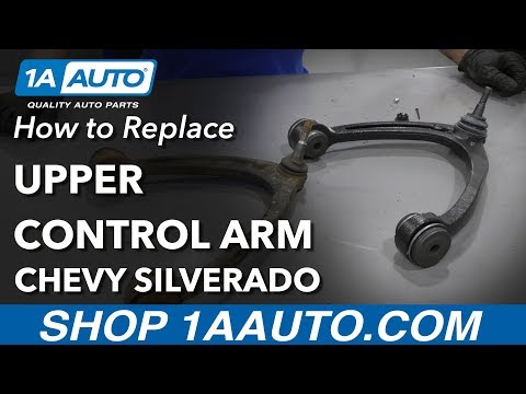 How to Replace Control Arm with Ball Joint 07-15 Chevy Silverado 1500