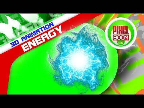 Green Screen Plasma Energy Sphere Pulse - PixelBoomCG