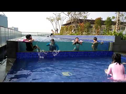 Swimming pool santika bintaro