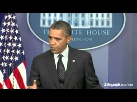 US President Barack Obama in 'red line' warning to Syria over chemical weapons
