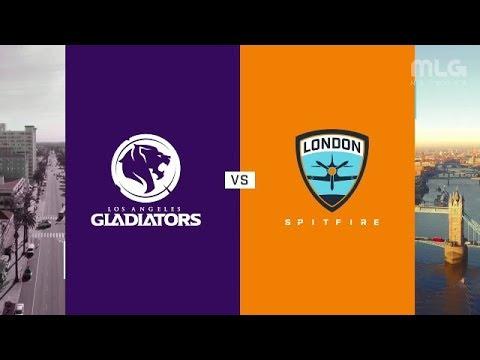 Los Angeles Gladiators vs London Spitfire vod