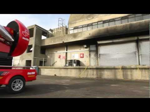 Easy 3000 - LEADER Fire Fighting Large Flow Fan in situation