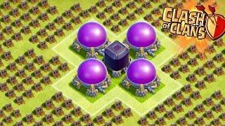 Clash of Clans - LOOT TROLLING! DARK ELIXIR & ELIXIR TROLL BASE! Champions Trolling!