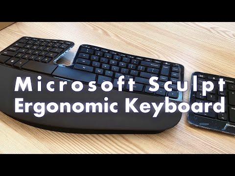 Microsoft SCULPT Ergonomic Keyboard For Business (4K60FPS)