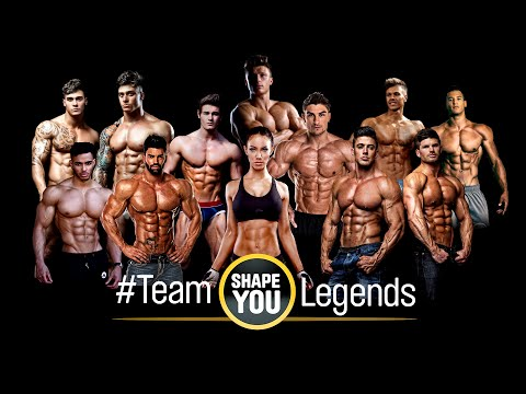 Fitness Motivation from the best of the World – Team ShapeYOU Legends
