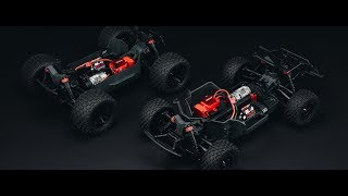 ARRMA 1/10 GRANITE 4x4 MEGA Monster Truck RTR Red/Black Video