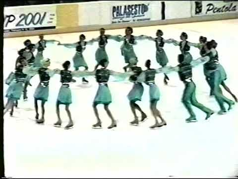 2001 - Team Berlin 1 - Senior Short - Spring Cup