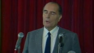Déclaration Mitterrand