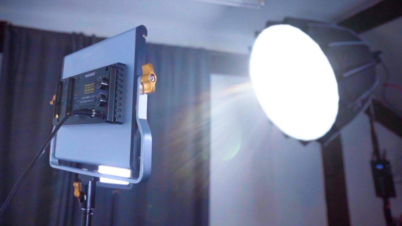 best lighting for youtube videos