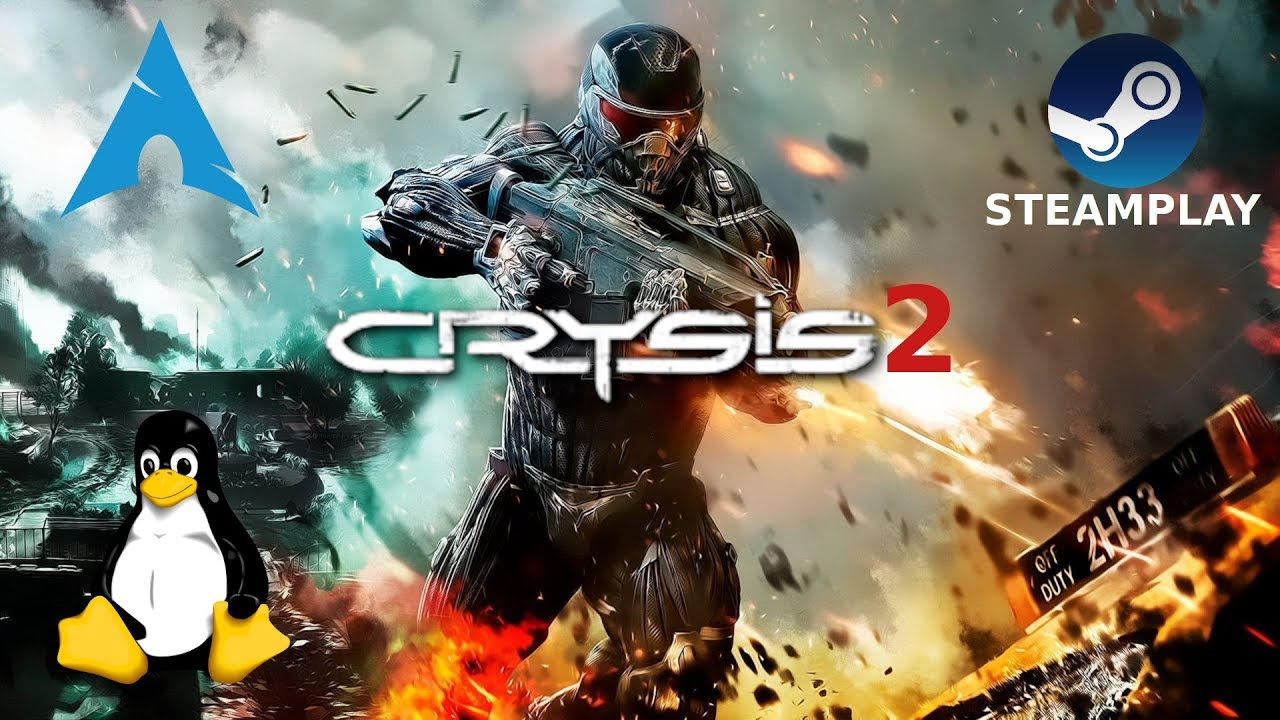 Crysis 2: Maximum Edition - Steam Play | Gameplay