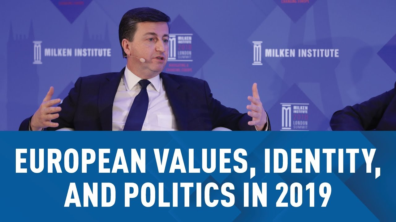 European Values, Identity, and Politics in 2019