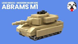 Modern Warfare - LEGO Abrams M1 Tank [Video Instructions]