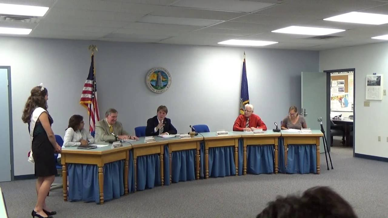 Town of Plattsburgh Meeting  7-18-16