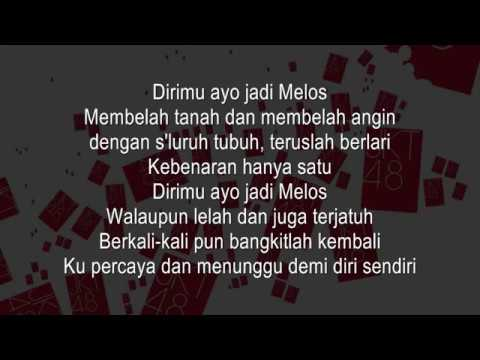 JKT48 - Melos no Michi KARAOKE (Male Version)