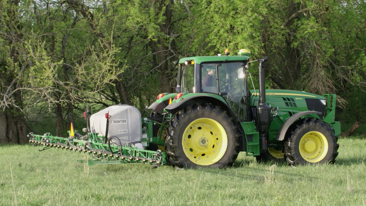 How To Adjust & Operate The Frontier LS1145 Mounted Sprayer