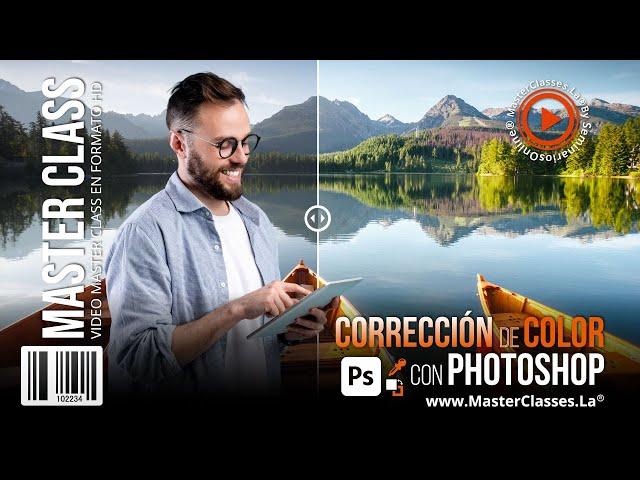 Corrección de color con photoshop - Aprende a corregir pequeños detalles.