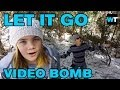 Let it Go from Frozen (Dad Bombed) | What's Trending Now