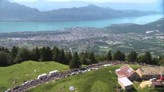 Video Una vista desde el cielo del Tour de Francia 2014