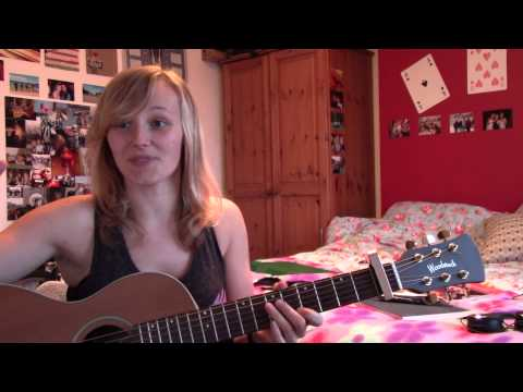 How to play The Chain (Ingrid Michaelson) acoustic guitar lesson