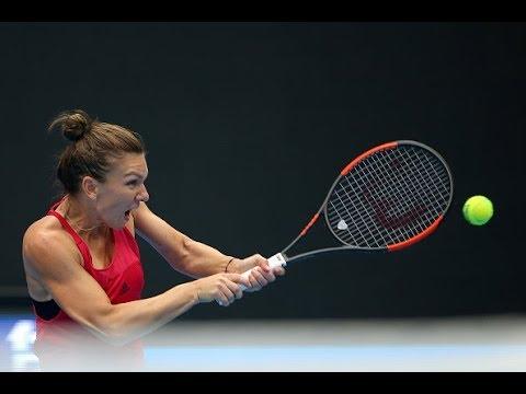 2017 China Open First Round   Simona Halep vs. Alison Riske   WTA Highlights