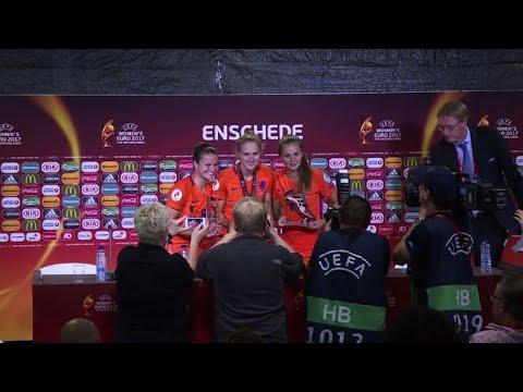 Football dames: les Pays-Bas remportent leur premier Euro