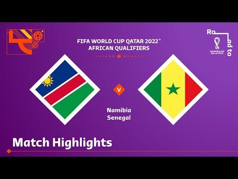 Namibia Senegal Goals And Highlights
