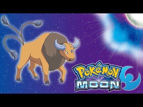 Pokemon: Moon - I Can Ride Tauros!