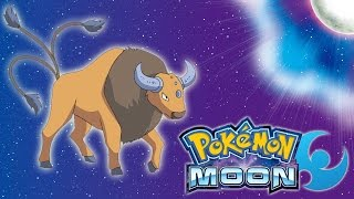 Pokemon: Moon - I Can Ride Tauros!