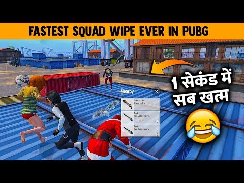 1 Second में Squad Wipe 🤣 - Duo Vs Squad Gameplay With A Die Heart Fan Of PUBG Mobile