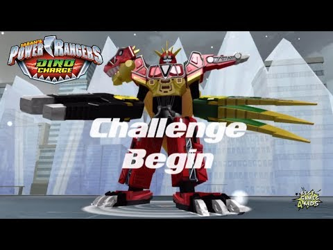 Power Rangers Dino Charge Rumble | ENCOUNTERS OF THE FURRED KIND Challenge!