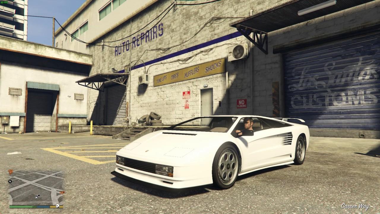 GTA 5 , Infernus Classic (Lamborghini Diablo)