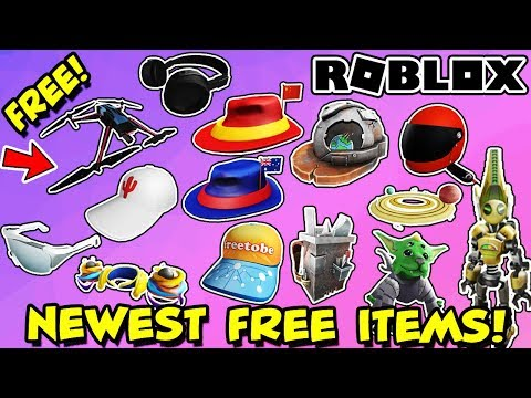 14 Free Items From Just The Last 2 Weeks In Roblox Get Them While You Can Youtube
