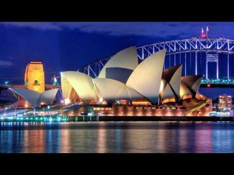 Sydney Opera House At Night - Australia (HD1080p)