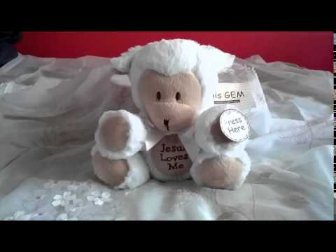 Musical Plush Lamb - Jesus Loves Me