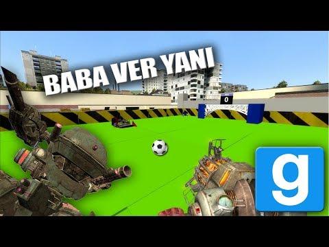 Gmod | Dev Robotlar, Futbol Sahası...