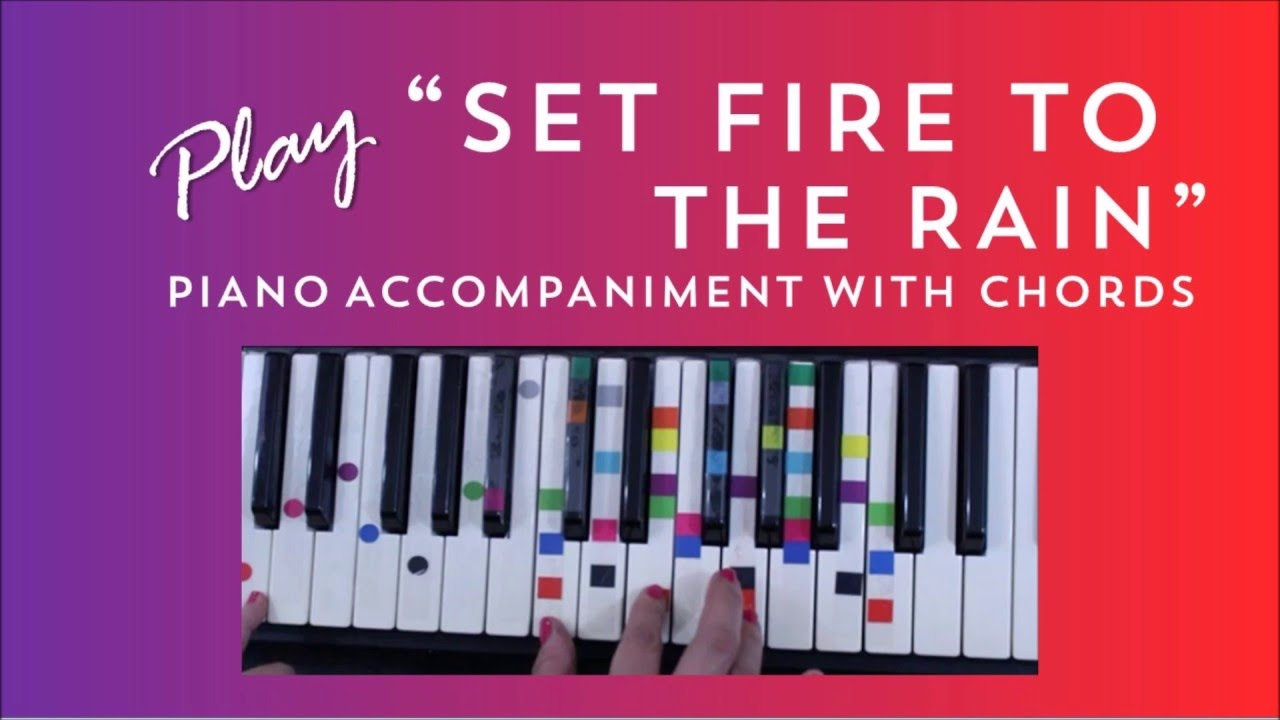 Set fire to the rain easy piano tutorial adele youtube set fire to the rain easy piano tutorial adele hexwebz Choice Image