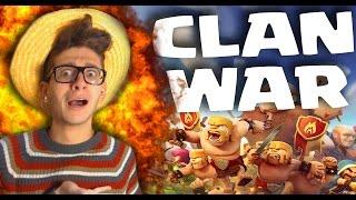 CLASH OF CLANS: LA MIA PRIMA CLAN WAR! AIUTOOO!!