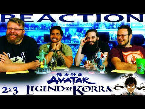 "Legend of Korra 2x3 REACTION!! ""Civil Wars, Part 1"""