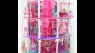 beautiful barbie house with elevator