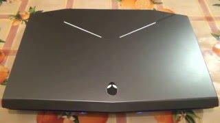 Чистка системы охлаждения ноутбука Dell Alienware 17