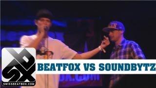 BEATFOX VS SOUNDBYTZ - UK Beatbox Championship 2012 - 1/8 Final