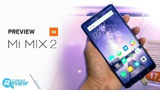 พรีวิว Xiaomi Mi MIX 2 สานต่อสมาร์ทโฟนจอไร้ขอบ วัสดุเซรามิก สวยหรู ทนทาน