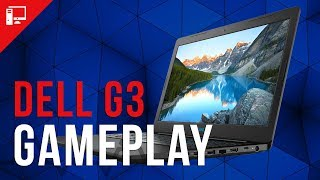 Gameplay com o notebook gamer Dell G3 (GTX 1050 Ti + Core i7-8750H)