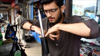 How To Refill Your Car Shocks With Shock Oil Youtube