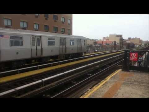 Astoria Line Trains At Broadway