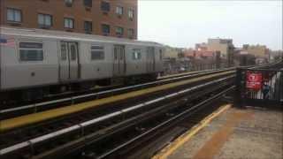 Astoria Line Trains At Broadway