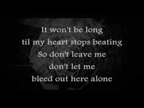 Blue october bleed out